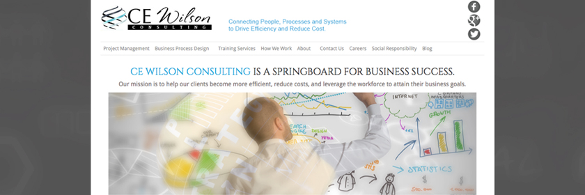 CE Wilson Financial Consulting Web Site Design and Development