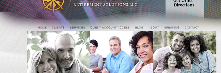 Retirement Financial Planning Site Design and Development